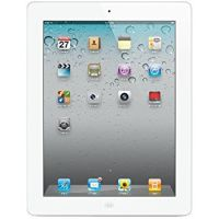 Apple iPad 2 (White, 16GB) Wi-Fi + Cellular (Unlocked) Excellent
