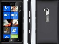 Recondicionado  Nokia Lumia 900 (Preto, 16GB)  (Desbloqueado) Excelente Estado