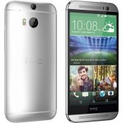 HTC One M8 (Glacier Silver, 16GB) - Unlocked - Excellent